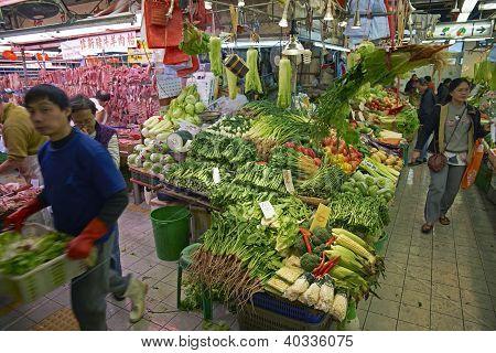 Hong Kong Vegetable Market