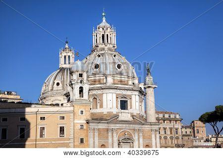 Santa Maria di Loreto. Roma (Rome), Italy