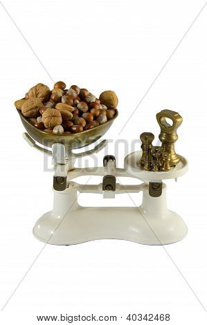 Nuts In Balance Scales