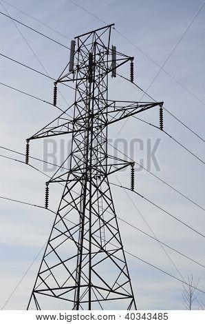 Líneas eléctricas de alta tensión