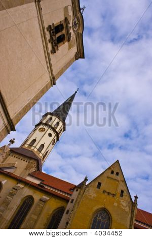 Levoca Old Town Towers