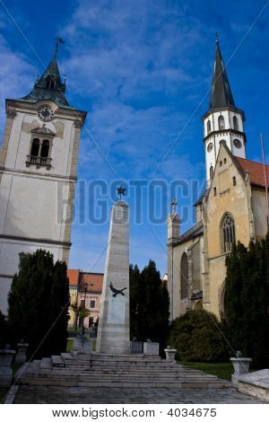 Main Square Levoca Towers