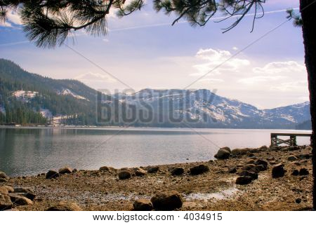 Alpine Lake View