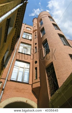 High City Constructivism Houses In Moscow