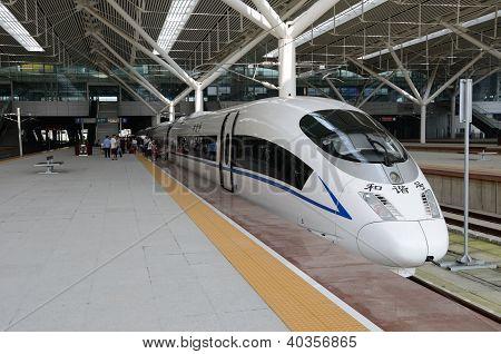 Fast Train In China