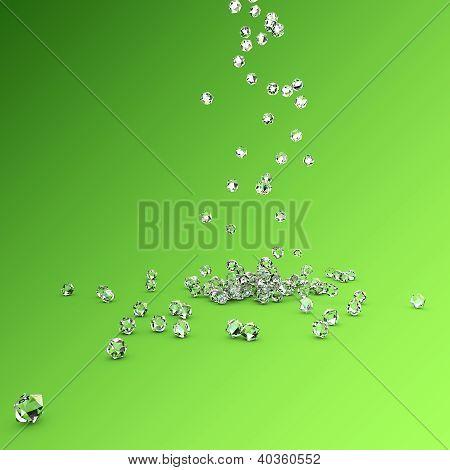 Caída de diamantes