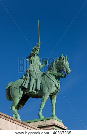 Knight In The Sacre Coeur, Montmarte, Paris, France