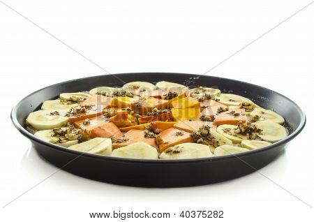 Macrobiotic Vegetable Pie
