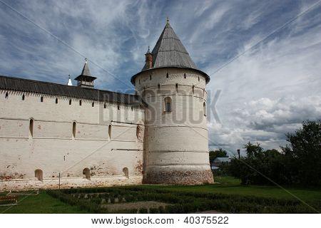 Rostov. Garden Tower Rostov Kremlin.