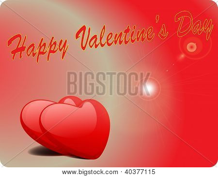 Valentine Love Card - Happy Valentine Day III
