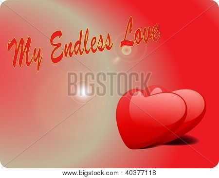 Valentine Love Card - My Endless Love
