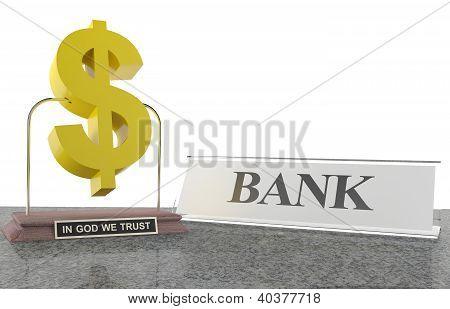 Bank Concept. 3D Illustration