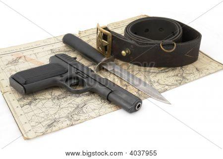 Soviet Army Scouts Ammunition