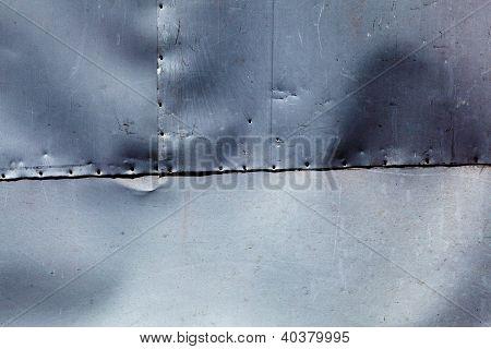 Metal surface texture