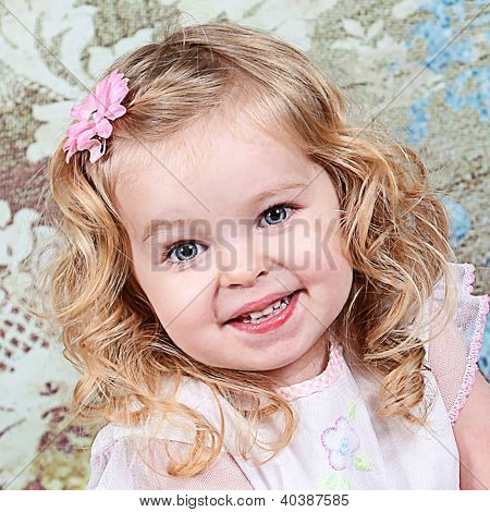 Beautiful Little Girl - Head Shot - Taken closeup