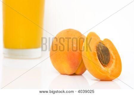 Fresh Juice Of Apricots