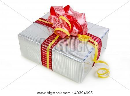 Christmas Gifts Box Isolated