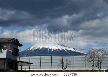 Mount Fuji From Japan