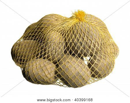 Potatoes In A Net