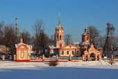 picture of exaltation  - Temple of the Exaltation of the Holy Cross in Altufyevo - JPG