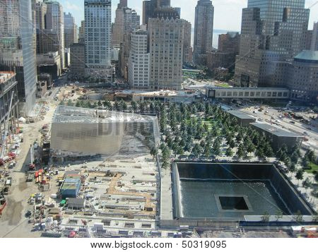 National September 11 Memorial & Museum at the World Trade Center site