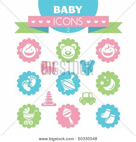 Collection Of Universal Baby Icons