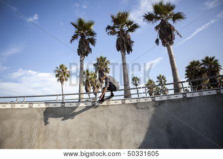 Skater in Venice Beach
