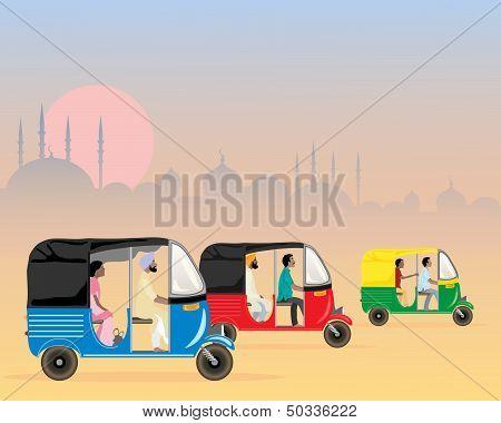 Tuk Tuk Traffic