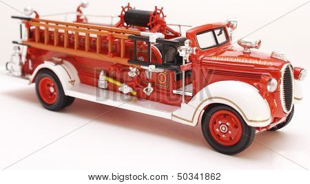 Classic Open Cab Fire Engine