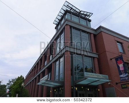 Princeton Public Library in Princeton, New Jersey