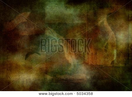 Abstract Background With Intentional Noise
