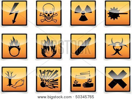 Danger Symbols Icon