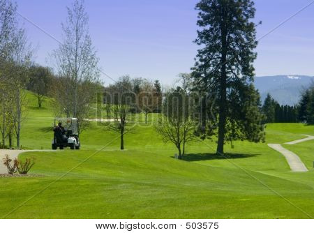 Golf Cart - Golf Course