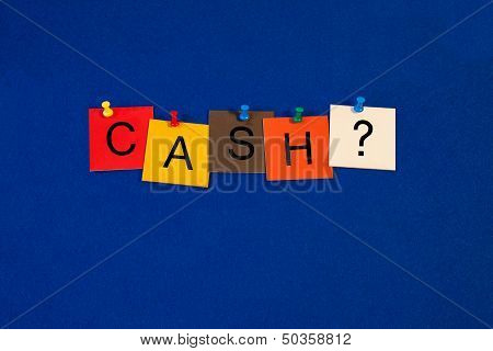 Cash - Business Sign
