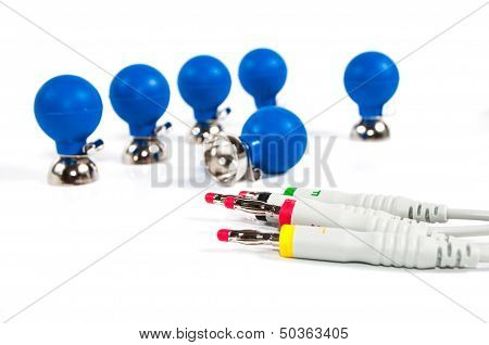ECG Electrodes And Cable