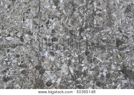 Texture Of Weathered Gray Concrete Wall