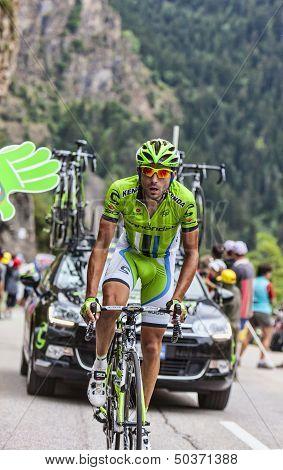 Moreno Moser Climbing Alpe D'dhuez