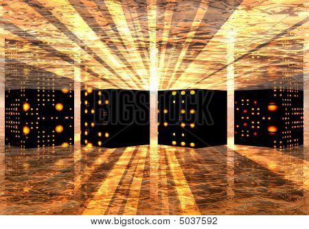 Underground Supercomputer