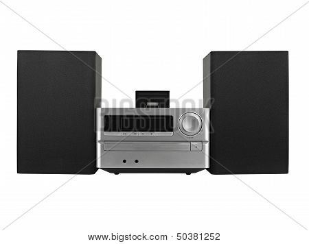 Digital Usb ,tuner, Cd Player- Clipping Path