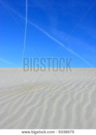 Dunes And Sky