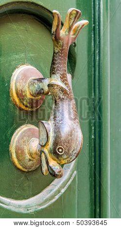 Traditional door handle,  Malta