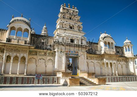 Raghunath temple in Pushkar, Rajasthan, India