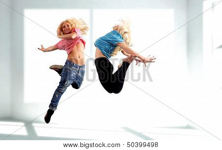 Dancer Jumping