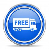 stock photo of free-trade  - free delivery icon - JPG