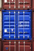 Container Blue Color