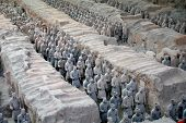 pic of qin dynasty  - Picture of Qin Shi Huang tomb in Xi - JPG