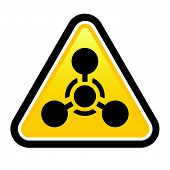 stock photo of chemical weapon  - Chemical Weapon sign - JPG