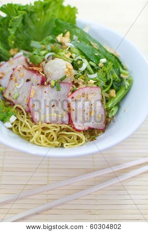 wheat dry noodles