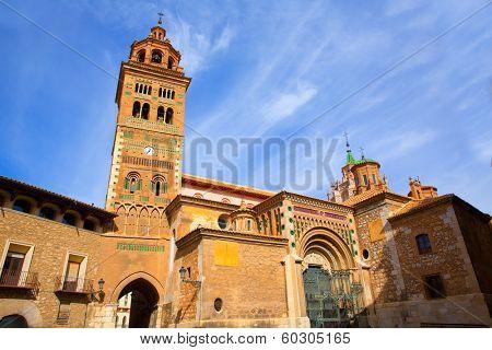 Aragon Teruel Mudejar Cathedral Santa Mari�?�a Mediavilla UNESCO heritage in Spain