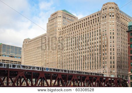 Merchandise Mart with Train